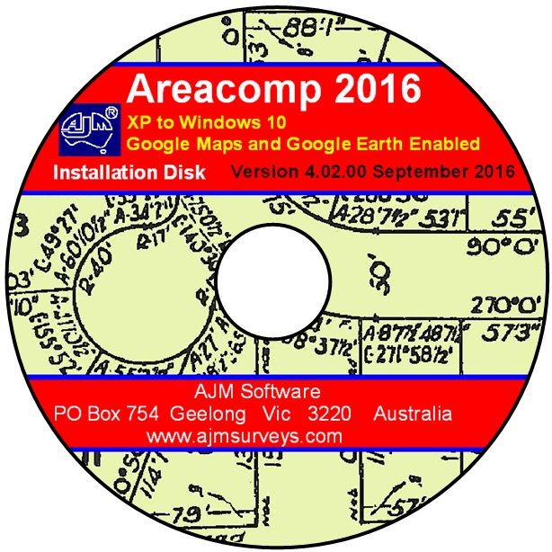 Areacomp disk